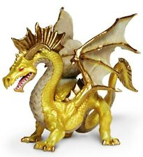 Golden Topaz Museum Quality Safari PVC Figurine Hand Painted Dragon S10118
