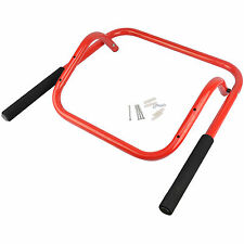 Wall Mounted Folding Steel Bike Bicycle Storage Rack Hook 2 bikes Shed Garage