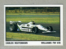 F1 GRAND PRIX - Panini 1980 - Figurina-Sticker n. 128 - C.REUTEMANN WILLIAMS-New