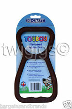 NEW Hi-Craft Dog Chew Toyboy Chocolate Flavoured Nylon Teething PULL Puppy Toy