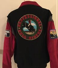Cripple Creek Professional Bull Riders PBR Large  Jacket Circle S