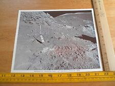Apollo 17 Orange Soil at Taurus-Littrow site NASA picture 1973 ORIGINAL