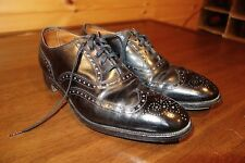 Edward Green Wingtip Brogue Oxford Dress Shoes Last 346 Made England Size 9.5 D