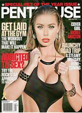 PENTHOUSE Magazine January 2013 Nicole Aniston with XXX DVD
