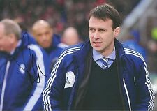 10 x 8 inch photo featuring & personally signed by Dougie Freedman at Bolton W.