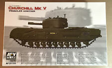 AFV CLUB AF35155 - 1/35 CHURCHILL Mk.V 95mm/L23 HOWITZER - NUOVO