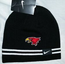 #691 Nike Northeast Community College NE Hawks Black Beanie Stocking Cap NWT
