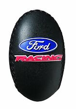 NEW UNIVERSAL MANUAL FORD LOGO LEATHER WRAPPED SHIFT KNOB CAR TRUCK SUV MINIVAN