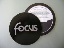 Magnetic Tax disc holder fits any ford focus silver    focaa