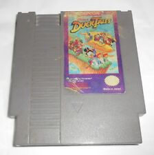 Disney Duck Tales (Nintendo NES, 1989) Game Cartridge ONLY- Free Shipping - Fair
