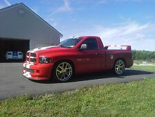 24 Inch SRT10 Dodge Ram Chrome Wheels Rims&Tires Fit Dodge Ram Durango Dakota