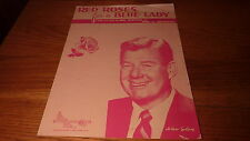 VINTAGE 1948 ICONIC SONG SHEET MUSIC - RED ROSES FOR A BLUE LADY -ARTHUR GODFREY
