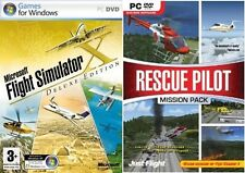 Microsoft Flight Simulator X Deluxe Edition & Rescue Pilot Mission Pack