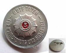 """DDR Junge Pioniere Abzeichen """" Polizei """" GUTE TATEN f.h( FDJ ) east german badge"""