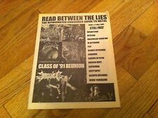 Metal Zine BROKEN HOPE Cryptopsy DEVIN TOWNSEND Cathedral ATHEIST Impaled PCP