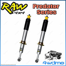 """Holden Colorado RG 4WD RAW Front Predator Gas Shock Absorbers 2"""" 0-40mm Lift"""