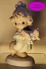 Enesco PRECIOUS MOMENTS Lord, Help Me Stick To My Job 521450 MINT!