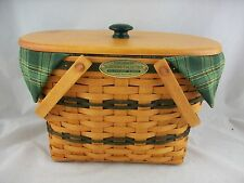Longaberger 1997 Traditions Fellowship Basket Combo w Lid
