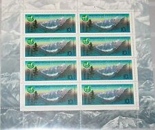 RUSSIA SOWJETUNION 1987 Klb 5686 MS 5533 Alpinist Camps Mountains Berge MNH