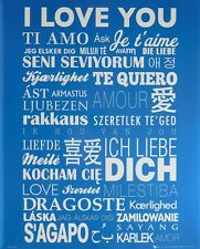 I LOVE YOU IN EVERY LANGUAGE POSTER (40x50cm)  NEW LICENSED ART