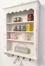 Shabby Chic Wall Shelf Cabinet Unit Cupboard Storage French Vintage Kitchen