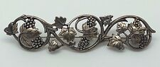 925 STERLING SILVER VINTAGE GRAPE CLUSTER PIN BROOCH