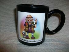 Westland Giftware Coots Deadhead Mug #12718 Old Man Teeth Inside Funny