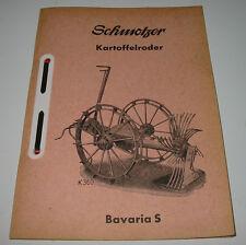 Ersatzteilliste Schmotzer Kartoffelroder Bavaria S Ersatzteilkatalog!