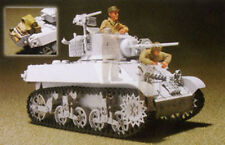 Hobby Fan 1:35 French M3A3 STUART Tank Crew 2 Figures w/Accessories Resin HF-553