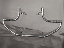 SUZUKI VZ 800 MARAUDER DESPERADO STAINLESS STEEL CUSTOM CRASH BAR WITH PEGS