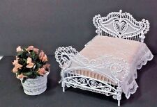 Dollhouse Miniature Victorian Bed Lot