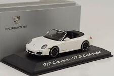 2011 porsche 911 997 GEN. II GTS cabriolet blanc Minichamps 1:43 wap Dealer