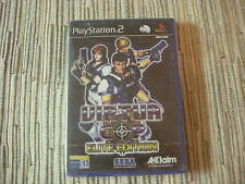 PLAYSTATION 2 PS2 VIRTUA COP ELITE EDITION JUEGO PISTOLA SEGA NUEVO Y PRECINTADO