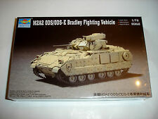 Trumpeter 1/72 M2A2 ODS/ODS-E Bradley Vehicle Model Kit 07297 MIP New Armor