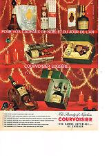 PUBLICITE   1961   COURVOISIER  cognac