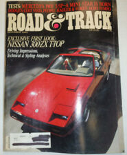 Road & Track Magazine Nissan 300-ZX T-Top November 1983 032515R
