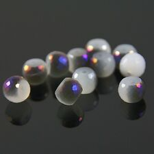 8pcs 8mm 128 faces drum type Swarovski crystal beads A white jade+purple