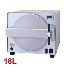 18L 900W Medical Steam Autoclave Sterilizer Dental Lab Equipment Machine CS-N18