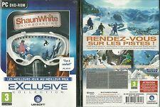 JEU PC - SHAUN WHITE : SNOW BOARD SURF DES NEIGES ( NEUF EMBALLE ) / EN FRANCAIS