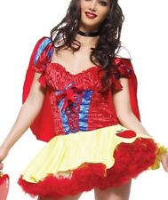 SNOW WHITE Dress Leg Avenue Sexy Women's Disney Princess Costume Medium / Large