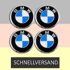 BMW ** Aufkleber Emblem für Felgen Radkappen ** ALUMINIUM  ** 4x Ø60mm