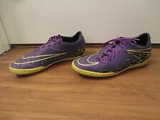 Used Worn Size 11 Nike Hypervenom Phelon II IC Indoor Soccer Shoes Hyper Grape