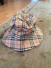 Burberry Golf Cotton Bucket Hat