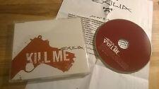 CD Metal Exilia - Kill Me (2 Song) Promo SONY BMG sc / Presskit