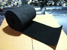 "BOAT / PWC / Pontoon / Marine Trailer Bunk Board Carpet - BLACK - 12"" x 26' OEM"