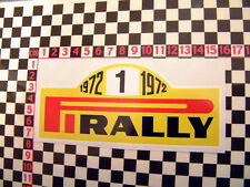 1972 Motorsport Tyres Sticker - Escort Imp Renault Alpine A110 Mini Cooper