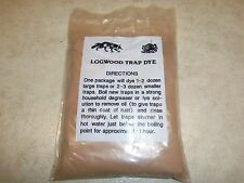 Logwood Trap Dye 1 Lb.   Traps  Trapping  Raccoon Muskrat Mink Fox