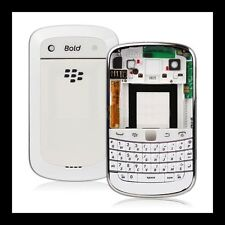 BLACKBERRY BOLD 9900 / 9930 NEW WHITE FULL HOUSING FACEPLATE REPLACEMENT COVER