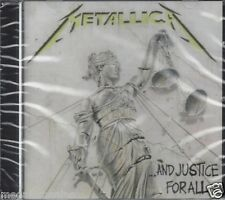 CD ♫ Compact disc **METALLICA • AND JUSTICE FOR ALL** nuovo sigillato