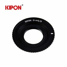 Kipon Adapter for C Mount 16 mm Lens to Micro Four Thirds MFT M4/3 MFT Camera